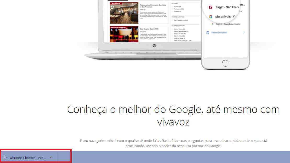 Como baixar Google Chrome Canary executavel