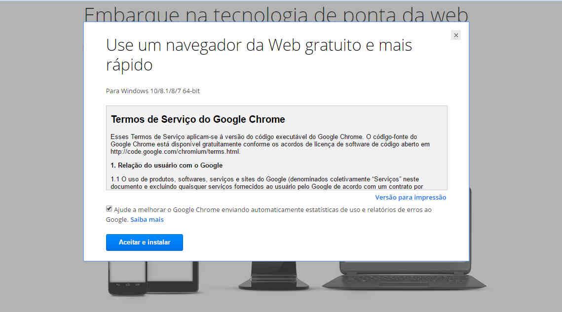 Como baixar Google Chrome Canary instalacao